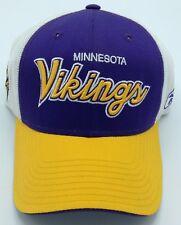 4948020d3 NFL Minnesota Vikings Reebok Adult Half Mesh Adjustable Cap NEW SEE  DEWSCRIPTION