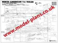 KYOSHO TEXAN AT6 R/C SCALE PLANS