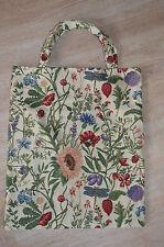 Gobelin Tasche Einkaufstasche Sporttasche Shopper ♥ Wildblumen  NEU