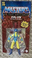 MASTERS OF THE UNIVERSE ORIGINS MOTU EVIL-LYN FIGURE BRAND NEW Card Not Mint