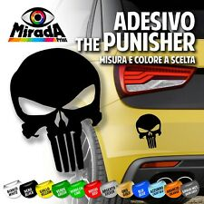 ADESIVO STICKER THE PUNISHER FRANK CASTLE SKULL MOVIE AUTO MOTO SCOOTER TUNING