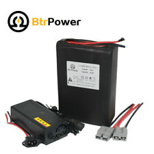48V10Ah Lithium lifepo4 Battery Pack for Electric Scooter 500W Motor 3A Charger