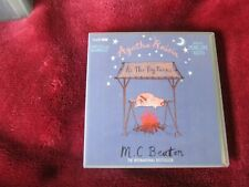M.C. BEATON - AGATHA RAISIN - AS  THE PIG TURNS - 6 CD AUDIO BOOK SET - UNABRIDG
