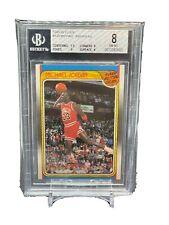 1988 Fleer Michael Jordan All Star Team #120 BGS 8 w 9 Subs