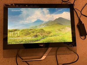 "Acer T232HL bmidz 23"" TOUCH Screen HD LCD Monitor w/ HDMI DVI VGA USB3.0 ports"