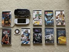 Sony PSP 2001 White with Games Included