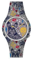 DOODLE WATCH  ░  Armbanduhr für SIE& IHN Ø 39mm   Silikon > Bulldoge > DOAR004