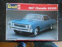 Vintage 1965 AMT '58 Chevrolet Impala Sport Coupe Stock # 6548 1/25 Scale model.