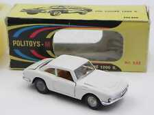 Politoys M 533 Fiat OSI coupe' 1200 S bianca in scatola w/ box die cast 1/43