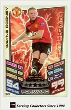 2012-13 Match Attax Man Of Match Foil Card #424 Wayne Rooney (Man Utd)