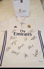 Signed shirt / Camiseta Real Madrid firmada ganadores 13° Copa Europa