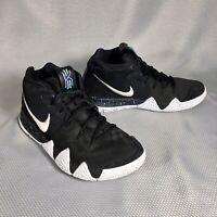Nike Kyrie 4 Ankle Taker 943806-002 Black White Basketball Shoes Men's Size 8
