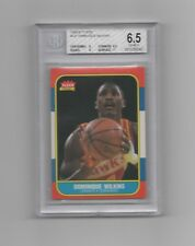 1986  Fleer  #121 Dominique Wilkins BGS 6.5