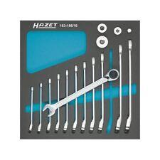 HAZET 163-186/16 Ratcheting combination wrench set 606 series, 16pcs.