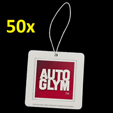 1x FULL BOX of 50x Autoglym AIR FRESHENERS **Next Day Delivery**