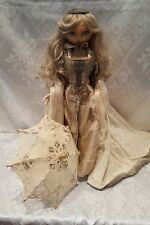Reuge Music/Xenis Exquisite Hand Painted Musical Doll
