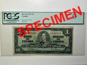 Canada, 1937, $1, BC-21a, F15 Banknote
