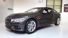 1:24 Echelle Gris BMW M4 Série 4 F32 71303 V détaillé New Ray Voiture Miniature