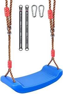 Xinlinke Plastic Swing Seat Set for Kids Children with Tree Hanging Straps Hooks