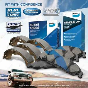 Bendix GCT Brake Pads Shoes Set for Ford Fiesta WP WQ 1.6 i 74 kW FWD Hatchback