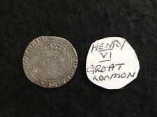 More details for henry v1 groat london mint