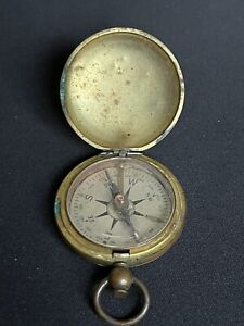 Vintage WW2 US Army Corp Engineers USCE Taylor Brass Field Pocket Compass