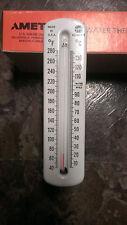 "hot water thermometer 1/2"" piping ametek us guage"
