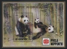 [JSC] Korea 1991 Phila Nippon 91 (Panda) Miniature Sheet F/Used