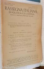 RASSEGNA ITALIANA 1956 Clara Luce Lesseps Congo Uruguay Finmare Compagnia Canale
