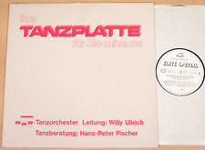 FMP-TANZORCHESTER & WILLY ULLRICH - Ihre Tanzplatte  (1987 / LP m-)