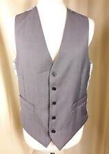 """Marks & Spencer Autograph Wool Blend Light Grey Waistcoat C38-40"""""""