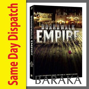 Boardwalk Empire The complete Season Series 1, 2 & 3 DVD Box Set HBO New Sealed