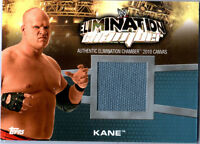 WWE Kane EC-8 Elimination Chamber 2010 Topps Event Used Mat Relic Card