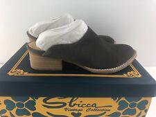 Sbicca Vintage Collection WOMENS SALEM SANDAL GREY 6 US NEW
