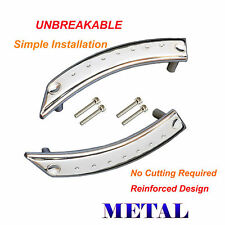Metal Reinforced Door Panel Door Handle Repair Kit Chrome Pair 98-10 VW Beetle