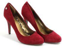 416 Bombas Zapatos de Mujer Elegante Tacones Altos Blink Rojo Burdeos Mujeres 40
