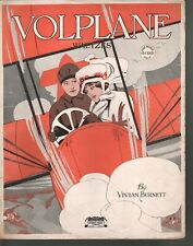 Volplane 1917 (dive at steep angle airplane with engine shut off) Sheet Music