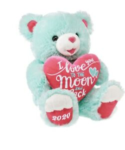 Way To Celebrate Valentine's Day, I Love You To The Moon & Back Teddy Bear, 19""