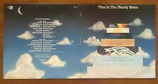 (This is THE MOODY BLUES)-fusion of rock with classical music-E7-2xLP