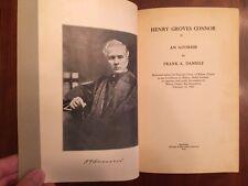 RARE 1926 Henry Groves Connor, Superior Court Judge Wilson County North Carolina