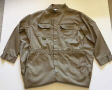 Welder Coveralls Flame Resistant Wear Size 50 Tac Tex Khaki HRC2 2112 Certified