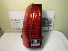 CADILLAC ESCALADE 2007-2014 LEFT/DRIVER SIDE OEM LED TAIL LIGHT TESTED 15890422