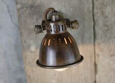 Brass Spot Light Industrial Vintage Warehouse Antique Retro Factory Style