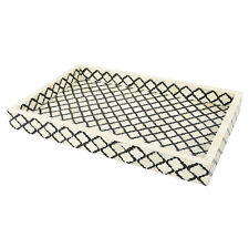 Decorative Oraganiser Tray Moroccan Pattern Buffalo Bone Handmade Size 11x17''