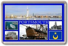 FRIDGE MAGNET - PORTSMOUTH - Large - Hampshire TOURIST