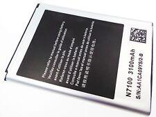 NEW BATTERY SAMSUNG GALAXY Note 2 II N7100 i605 i317 T889 3100 mAh AA1CA09YS/2-B