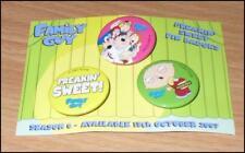 Family Guy - 4 x Pin Badges - Freakin Sweet - Stocking Filler - FREE POSTAGE