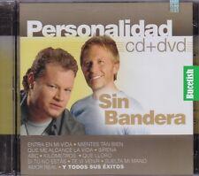 Sin Bandera Personalidad CD+DVD New Nuevo sealed