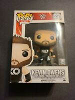 NEW WWE Wrestling Funko POP! Kevin Owens Vinyl Figure #27 minor nox damage