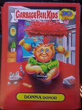Garbage Pail Kids 2015 Series 2 30th 8b Donna Donor RED Push Button NrMt-Mint